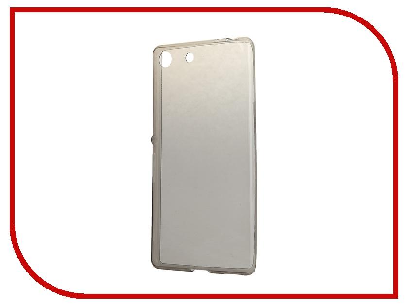 Аксессуар Чехол-накладка Sony Xperia M5 BROSCO силиконовый Black M5-TPU-BLACK<br>