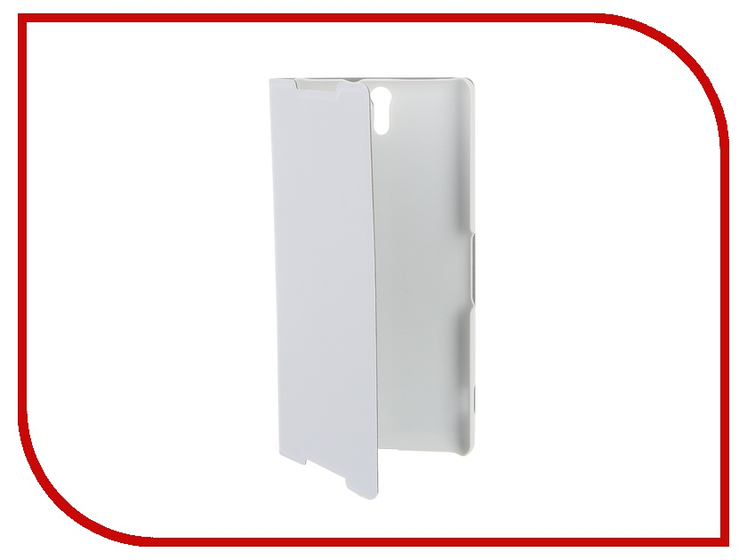 Аксессуар Чехол Sony Xperia C5 Ultra BROSCO White C5U-BOOK-WHITE аксессуар чехол htc u ultra brosco black htc uu book black