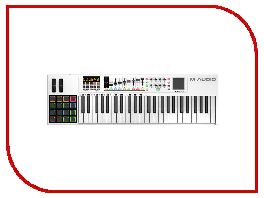 Midi-клавиатура M-Audio Code 49