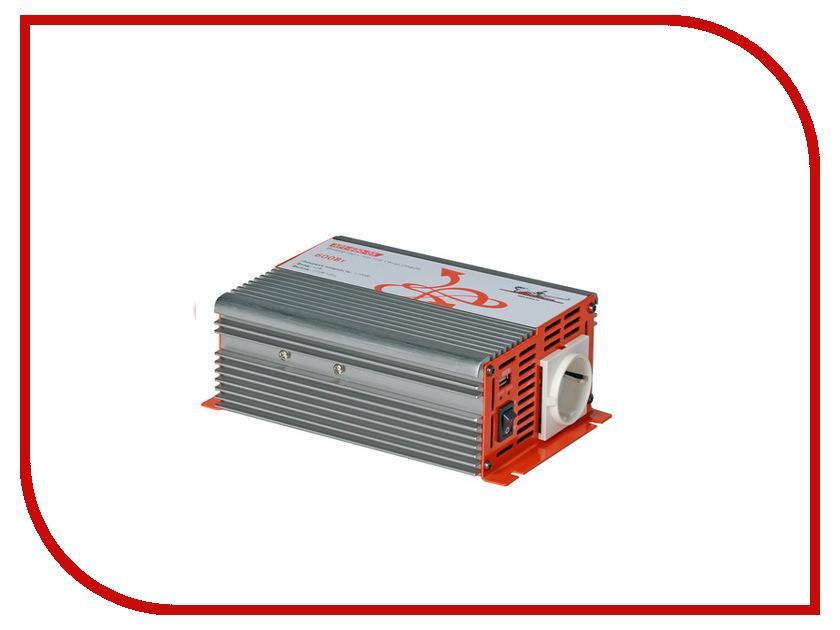 Автоинвертор Airline API-600-05 (600Вт) с 12В на 220В