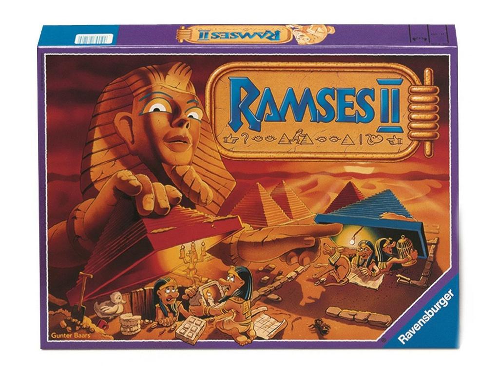 Настольная игра Ravensburger Рамзес II 26160 от Pleer