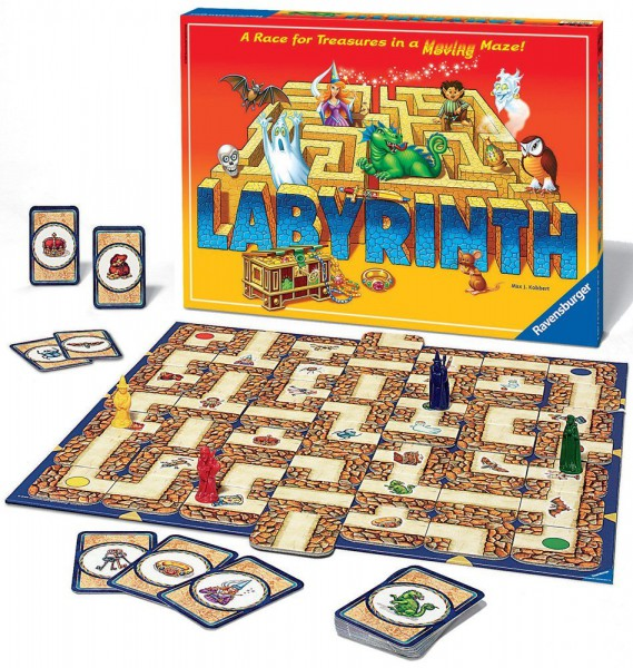 Настольная игра Ravensburger Сумасшедший Лабиринт 265824 / 26481 ravensburger игра филли ravensburger