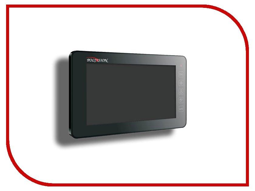 Видеодомофон Polyvision PVD-A07M2 Black<br>