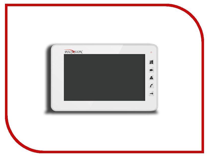Видеодомофон Polyvision PVD-7S v.7.3 White