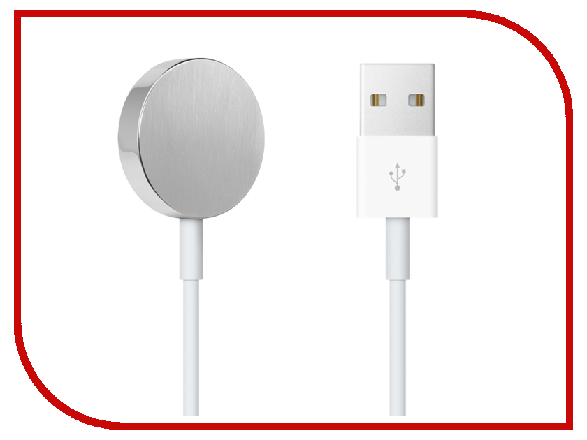 Apple Аксессуар Кабель для зарядки APPLE Watch 38mm / 42mm Magnetic Charging Cable 2m MJVX2ZM/A