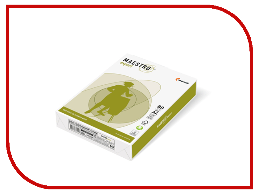 Бумага Maestro Expert 80gm/m2 500 листов 110533<br>
