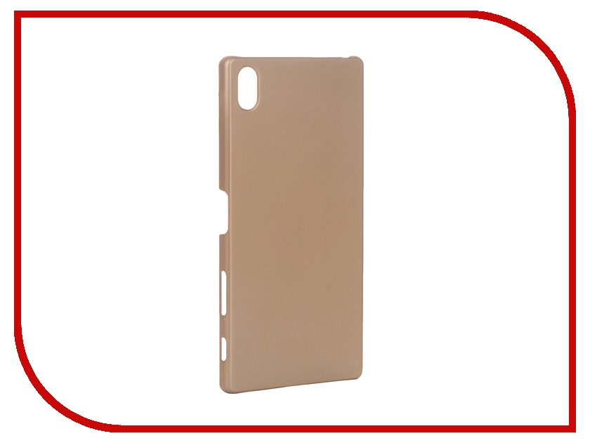 Аксессуар Чехол Sony Xperia Z5 Premium BROSCO пластиковый Copper Z5P-SOFTTOUCH-COPPER<br>