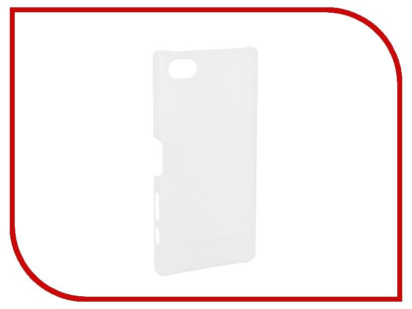 Аксессуар Чехол-накладка Sony Xperia Z5 Compact BROSCO White Z5C-SOFTTOUCH-WHITE<br>