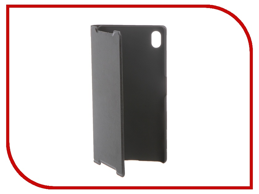 Аксессуар Чехол Sony Xperia Z5 BROSCO пластиковый Black Z5-BOOK-BLACK<br>