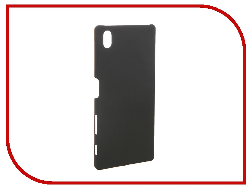 Аксессуар Чехол Sony Xperia Z5 BROSCO пластиковый Black Z5-SOFTTOUCH-BLACK аксессуар чехол htc u ultra brosco black htc uu book black