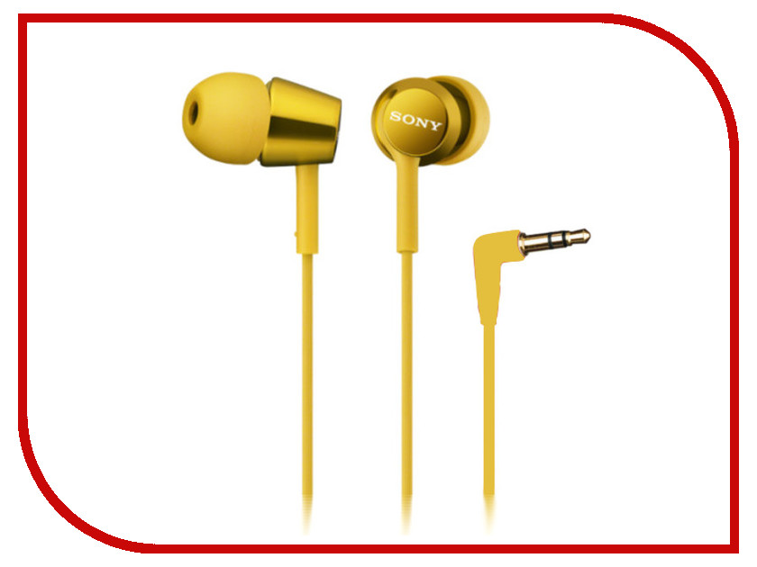Наушники Sony MDR-EX150 Yellow<br>