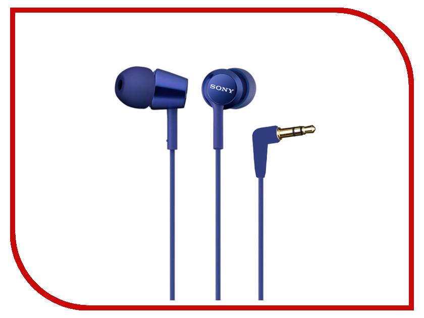 Наушники Sony MDR-EX150/Li Blue<br>