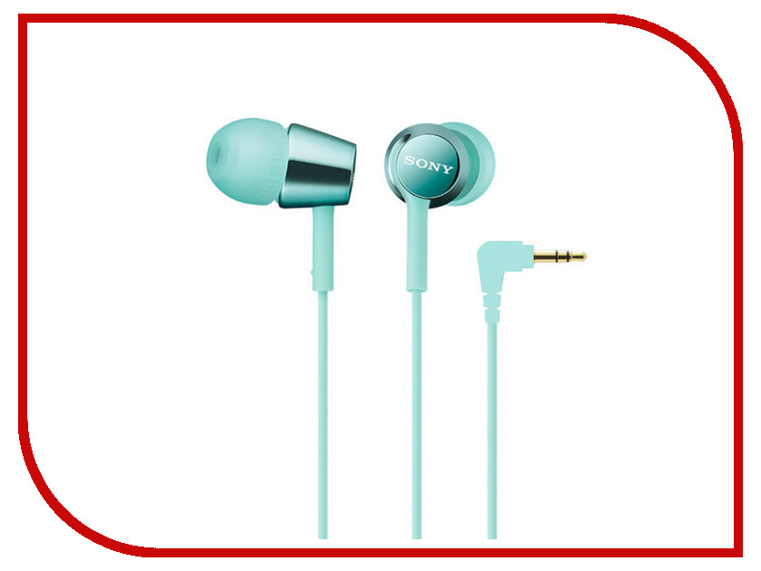 Наушники Sony MDR-EX150 Mint Blue<br>