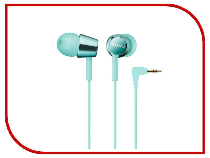 Наушники Sony MDR-EX150 Mint Blue<br>