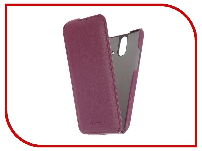 Аксессуар Чехол HTC One E8 Dual Sim Armor Full Purple 6195<br>
