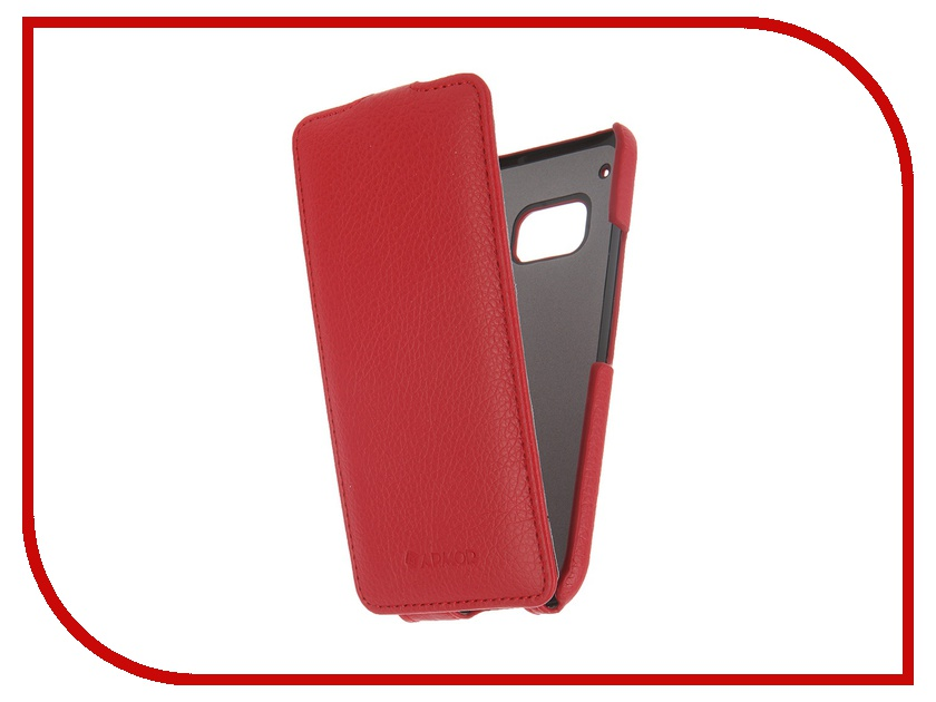 Аксессуар Чехол HTC One M9 Armor Full Red 7738 чехол книжка боковой с окошком для htc one m9 boostar белый