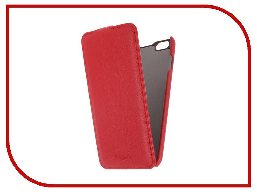 Аксессуар Чехол iPhone 6 Plus Armor Full Red 6281