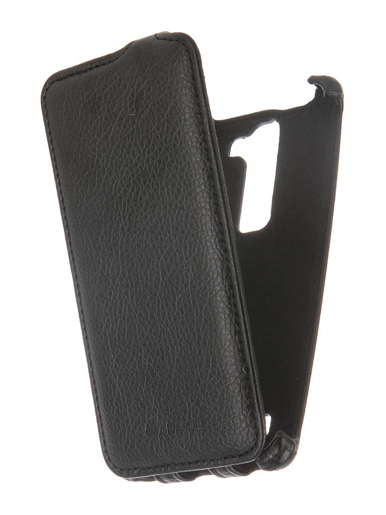 Аксессуар Чехол-книжка LG H502 Magna Armor Black 7987