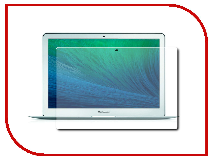 �������� ������ 13-inch ROCK ��� APPLE MacBook Air 13 Transparent