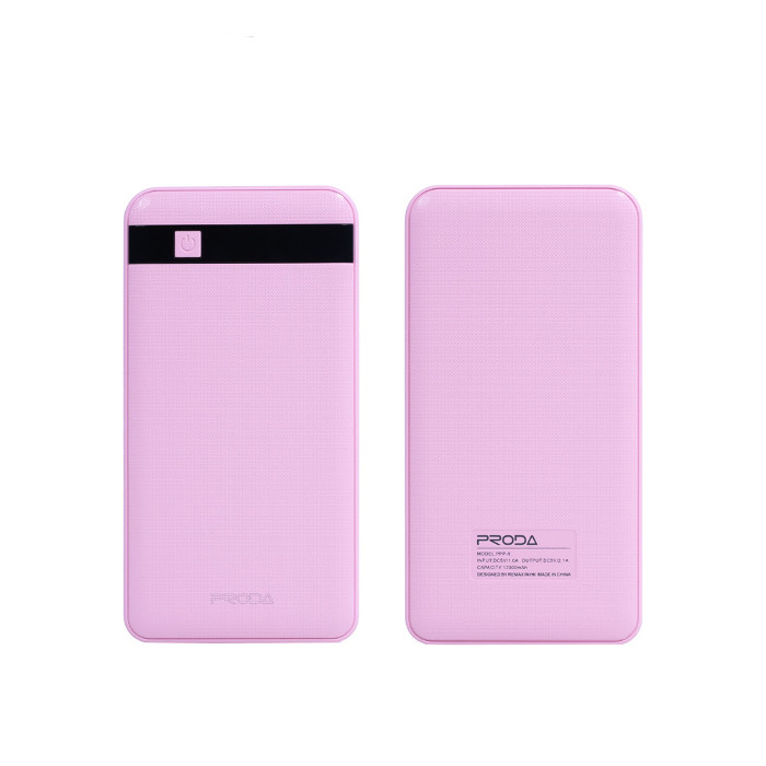 Аккумулятор Remax Power Bank Proda Gentleman 12000 mAh Pink