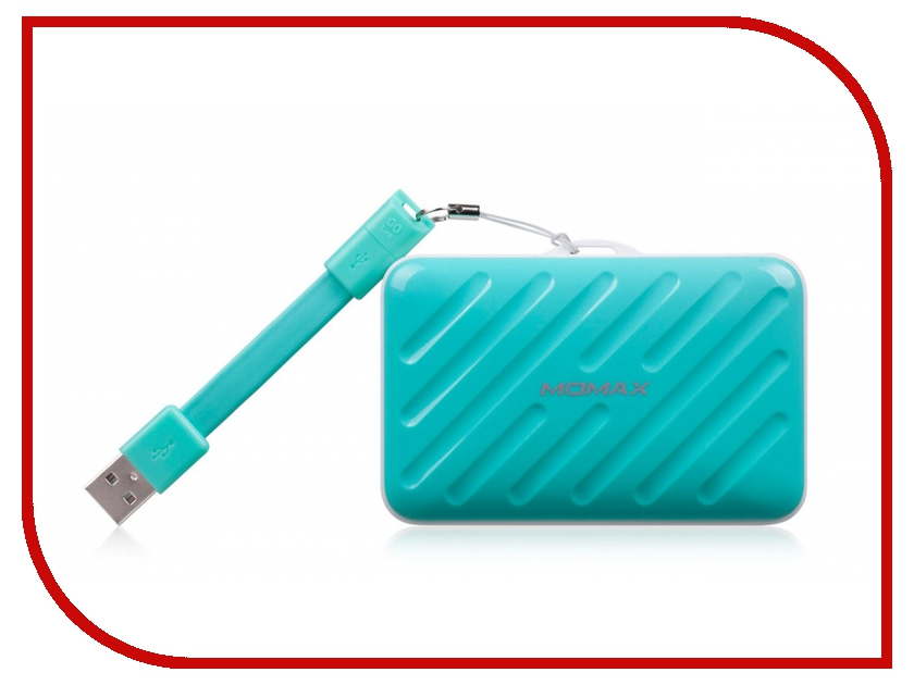 Аккумулятор MOMAX iPower Go Buddy 10000mAh Blue<br>
