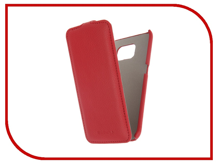 Аксессуар Чехол Samsung SM-G925F Galaxy S6 Edge Armor Full Red 7821