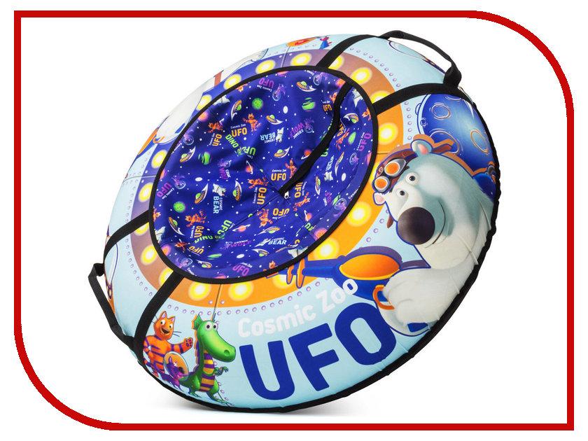Тюбинг Cosmic Zoo UFO Медвежонок Blue<br>