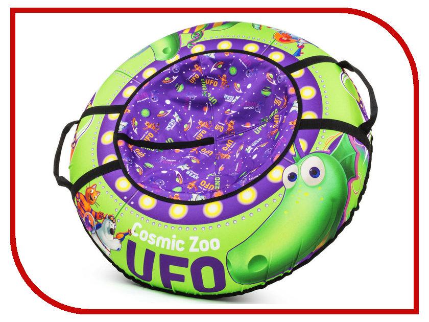 Тюбинг Cosmic Zoo UFO Динозаврик Green