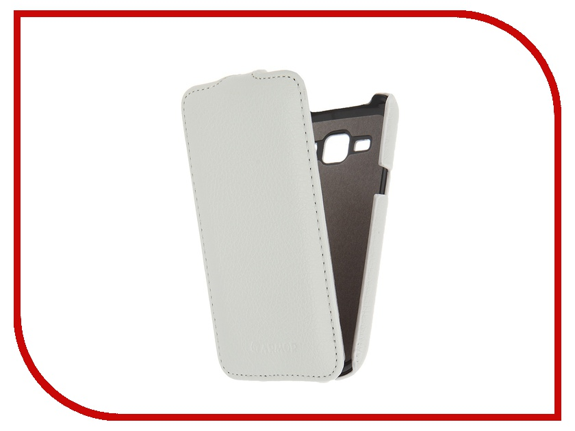 Аксессуар Чехол Samsung Galaxy J1 Armor Full White 7755<br>