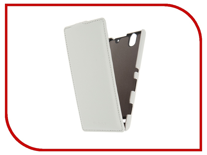 Аксессуар Чехол Sony Xperia C4 Armor Full White 8000<br>