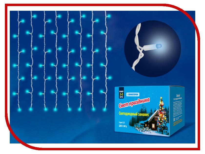 Гирлянда Uniel ULD-C2030-240/DWK IP67 Blue<br>