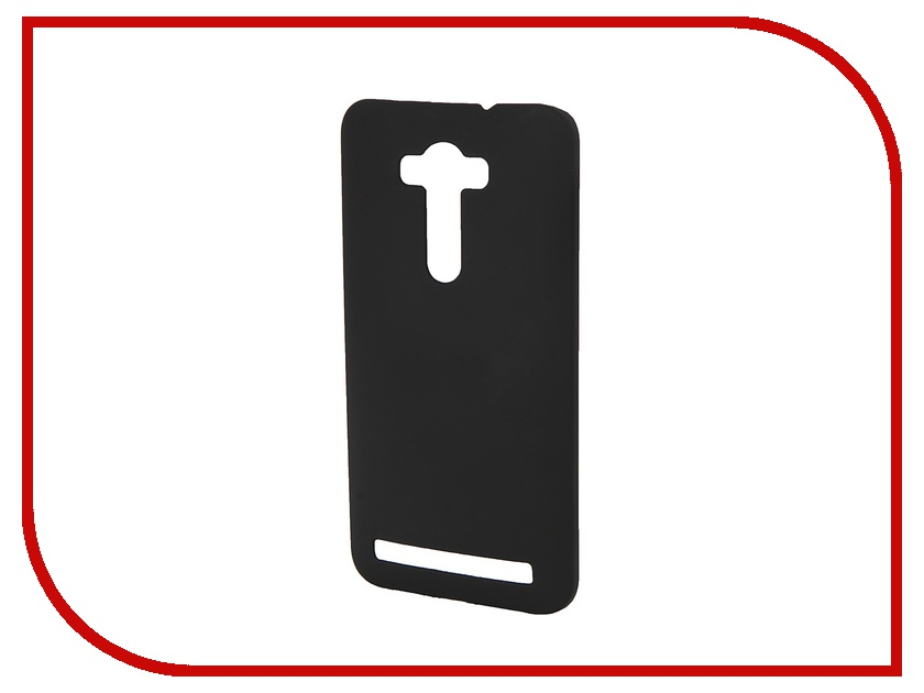 Аксессуар Чехол-накладка ASUS Zenfone 2 Laser ZE550KL 5.5 inch Pulsar Clipcase PC Soft-Touch Black PCC0141<br>