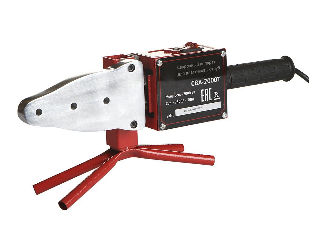 Аппарат для сварки пластиковых труб Калибр СВА-2000Т