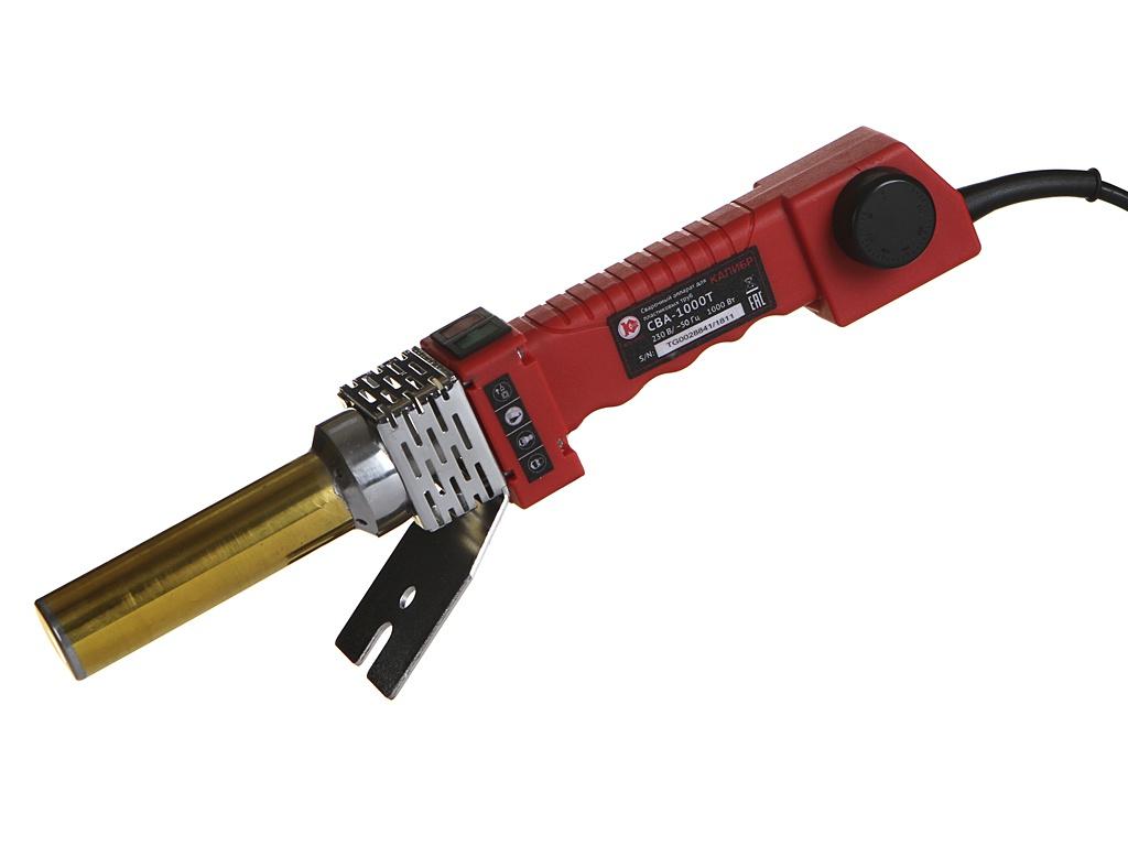 Аппарат для сварки пластиковых труб Калибр СВА-1000Т аппарат для сварки пластиковых труб калибр сва 780т промо