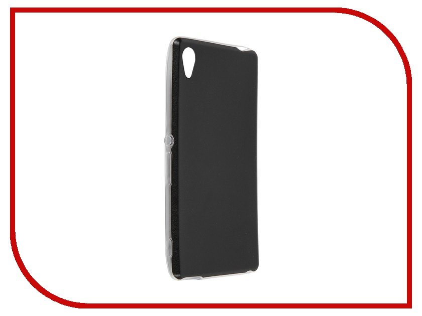 Аксессуар Чехол-накладка Sony Xperia M4 BROSCO Black M4A-LEATHER-TPU-BLACK аксессуар чехол htc u ultra brosco black htc uu book black