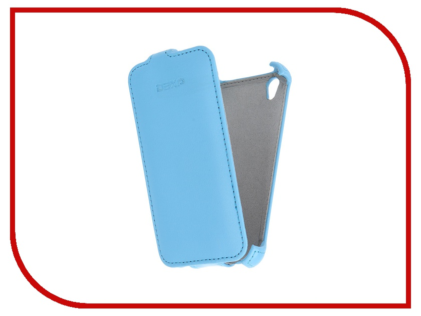 Аксессуар Чехол-флип DEXP Ixion X140 Blue dexp e140 аккумулятор