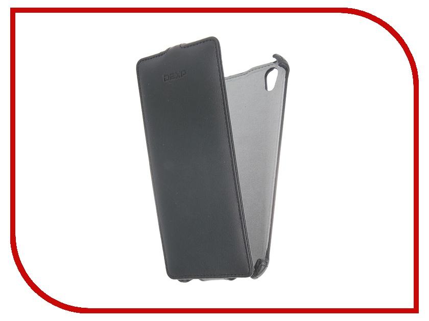 Аксессуар Чехол-флип DEXP Ixion X255 Black dexp e140 аккумулятор