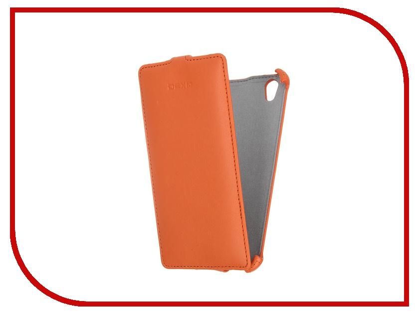 Аксессуар Чехол-флип DEXP Ixion X255 Orange dexp e140 аккумулятор