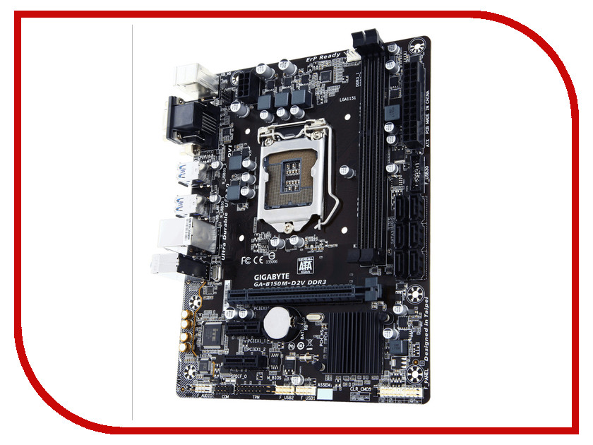 Материнская плата Gigabyte GA-B150M-D2V DDR3
