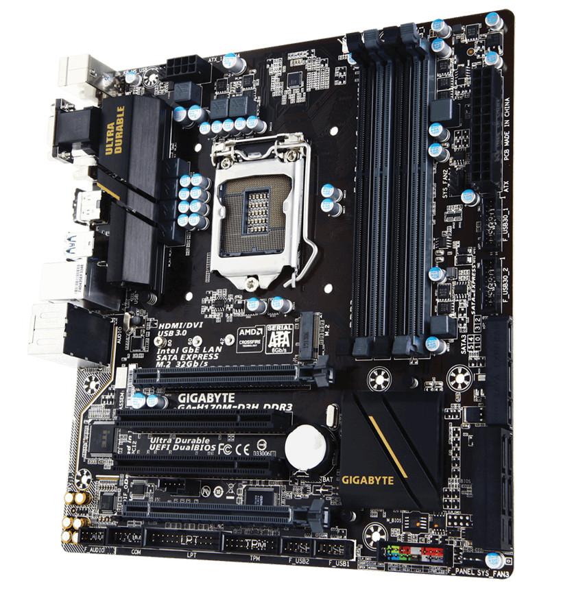 Материнская плата Gigabyte GA-H170M-D3H DDR3<br>