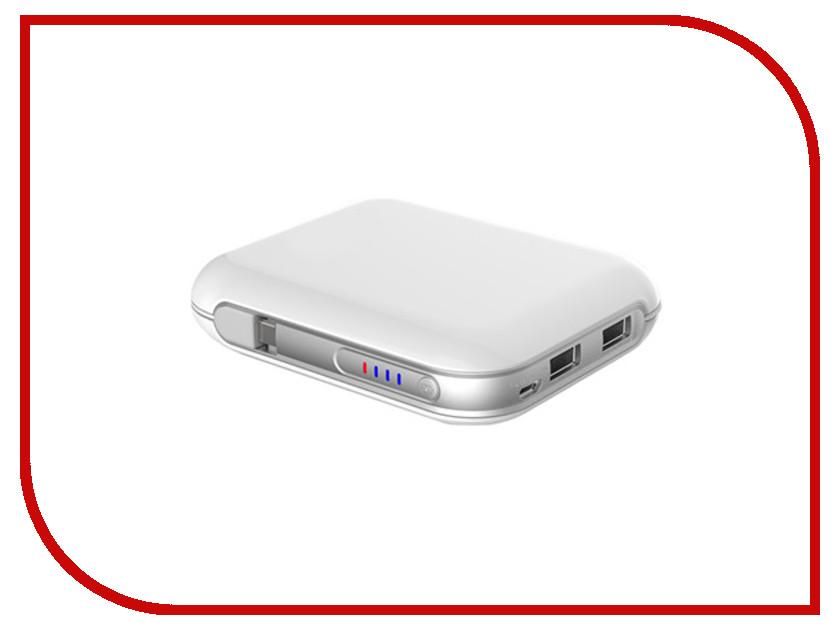 Аккумулятор Robiton Power Bank Li10.4-W White-Silver 13285<br>