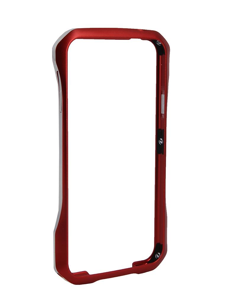 Аксессуар Чехол-бампер Samsung Galaxy S5 DRACO Supernova Red<br>