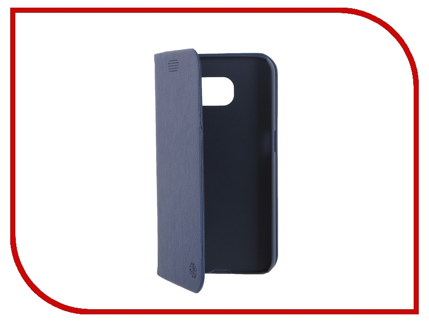 Аксессуар Чехол Samsung G920F Galaxy S6 DRACO Tigris PU Flip Blue<br>