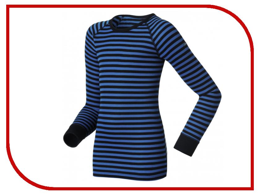 Рубашка ODLO Warm 10459-20900 Размер 128см Black-Blue<br>