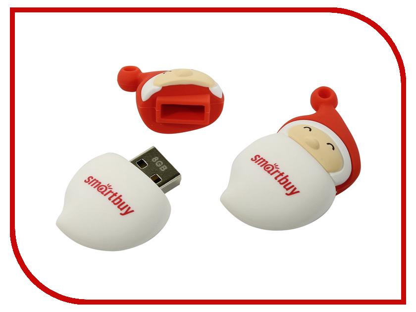 USB Flash Drive 8Gb - SmartBuy Xmas Santa SB8GBSantaA