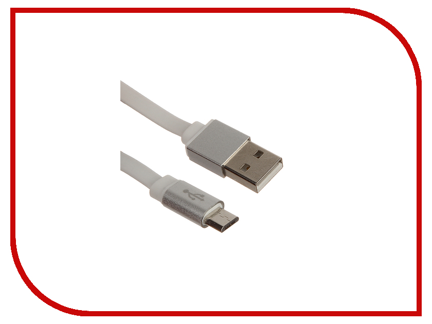 Аксессуар Finity USB - MicroUSB FUM-02 1.2m White<br>