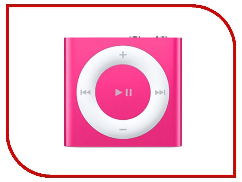 Плеер APPLE iPod Shuffle - 2Gb Pink MKM72RU/A