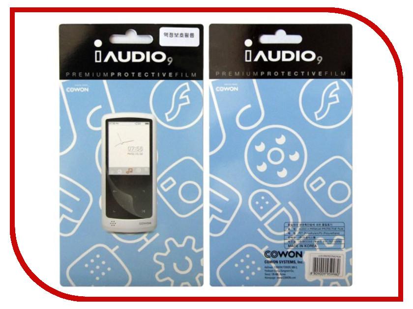 Защитная пленка на экран Cowon iAudio 9 (LCD) сетевой адаптер cowon iaudio v5 x7
