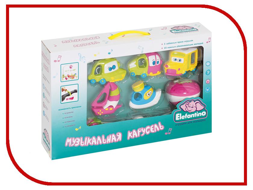 Музыкальный мобиль Elefantino 7949