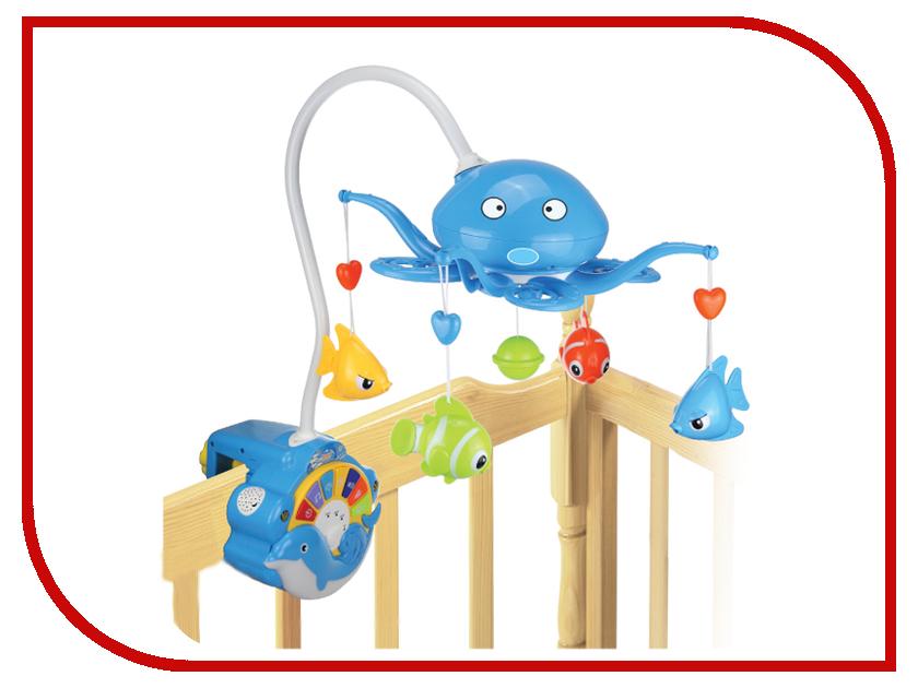 Музыкальный мобиль Elefantino 7959 Blue
